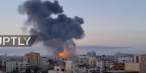 Israeli Warplanes Hit Gaza Strip in Fresh Attacks