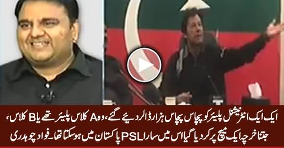 It Is Our Right to Raise Questions - Fawad Chaudhry's Response on Imran Khan's Statement