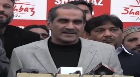 Jahangir Tareen Can Never Win From Siddiqui Baloch - Khawaja Saad Rafique