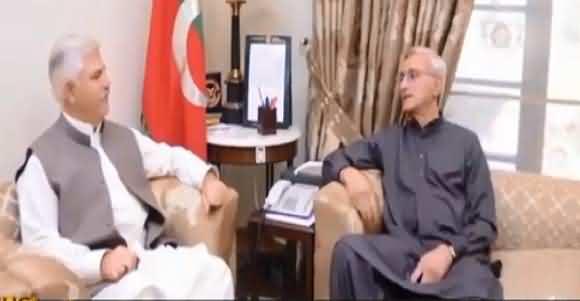 Jahangir Tareen Meets CM KP Mehmood Khan Discusses Various Issues