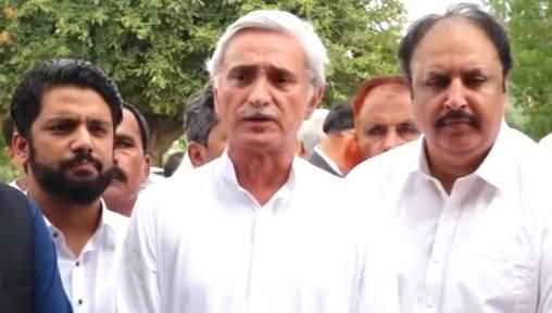 Jahangir Tareen Talks to Media in Multan - 29th July 2019