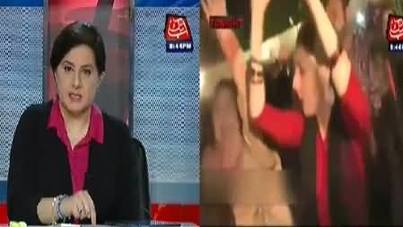 Jasmeen Manzoor Exposed the Dual Face of Sharmila Farooqi by Showing Her Dancing Clips