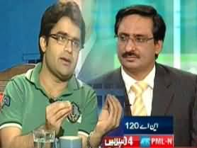 Javed Chaudhary and Shahzeb Khanzada Off Camera Fight - Gets Physical with Each Other