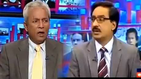 Javed Chaudhry Grilled Nehal Hahsmi on President Mamnoon Hussain's Speech