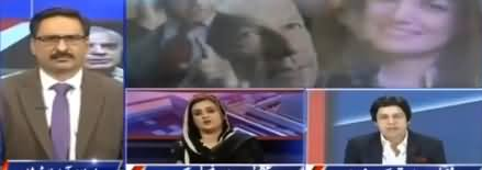 Javed Chaudhry Made Uzma Bukhari Speechless By Reminding Her PMLN History of Defaming Opponents
