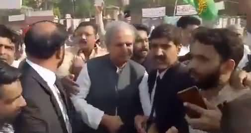 Javed Hashmi break all the hurdles and reached lahore