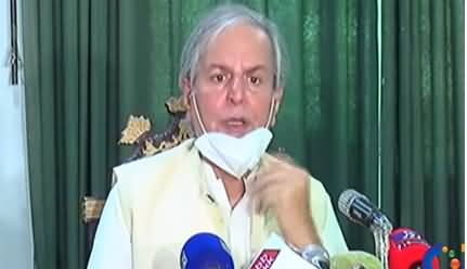 Javed Hashmi Press Conference Against Govt - 6th July 2020