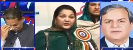 Javed Latif Crying in Live Show While Javed Hashmi Telling Story of Kulsoom Nawaz