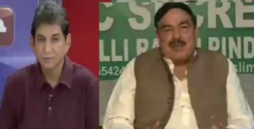 Jawab Chahye (Sheikh Rasheed Ahmad Exclusive Interview) – 19th October 2016
