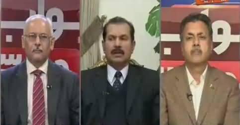 Jawab Chahye (Why Army Silent on Sartaj Aziz Statement) – 13th December 2016