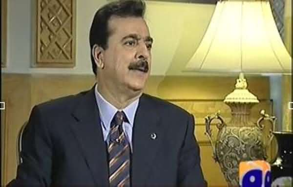 Jawab Deh (Former PM Yousuf Raza Gilani Exclusive Interview with Iftikhar Ahmad) - 6th October 2013