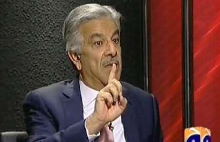 Jawab Deyh (Khawaja Asif Exclusive Interview with Iftikhar Ahmad) – 24th November 2013