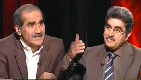 Jawab Deyh (Khawaja Saad Rafique Exclusive Interview with Iftikhar Ahmad) – 20th October 2013