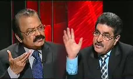 Jawab Deyh (Rana Sanaullah Exclusive Interview with Iftikhar Ahmad) – 10th November 2013