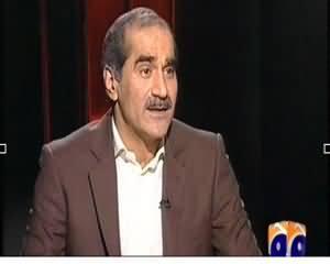 Jawab Deyh REPEAT (Khawaja Saad Rafique Exclusive Interview) – 17th November 2013