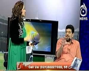 Jeet Ka Josh On Aaj News (Pak India Match Special) – 21st March 2014