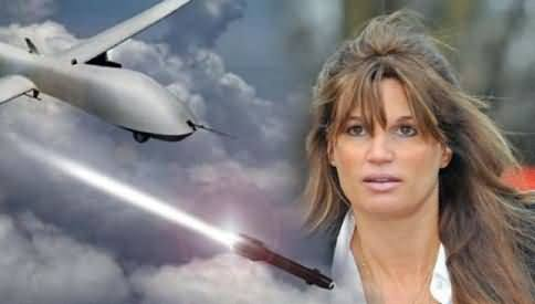 Jemima Khan became the Voice of Pakistan Against Drone Attacks