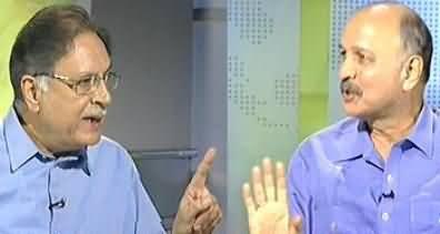 Jirga on Geo News - 29th June 2013 (Exclusive Interview With Pervez Rasheed & Mushahid Hussain)