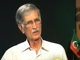 Jirga on Geo News - 6th June 2013 (Exclusive Interview With Pervez Khattak)