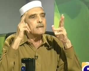 Jirga on Geo News (Exclusive Interview With Azam Khan Hoti) - 2nd November 2013