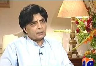 Jirga on Geo News (Exclusive Interview With Chaudhry Nisar Ali Khan by Saleem Safi) - 24th August 2013