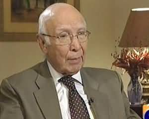 Jirga on Geo News (Exclusive Interview With Sartaj Aziz) - 14th September 2013