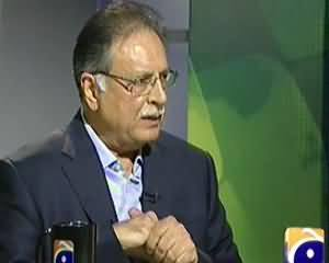 Jirga on Geo News (Pervez Rasheed Exclusive Interview) - 16th November 2013