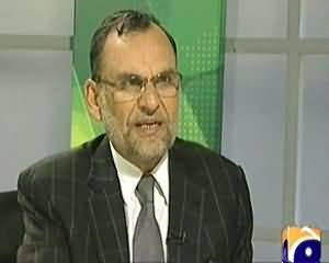 Jirga (PTI Azam Khan Swati Exclusive Interview with Saleem Safi) – 25th January 2014