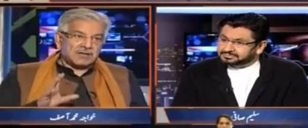 Jirga With Saleem (Khawaja Asif Exclusive Interview) - 28th January 2017