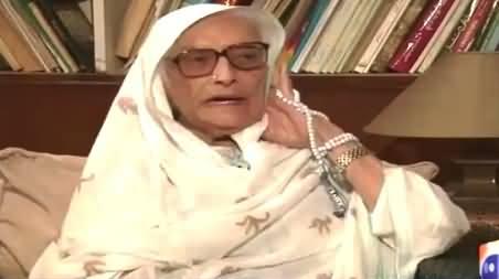 Jirga with Saleem Safi (Begum Naseem Wali Khan Exclusive Interview) – 22nd June 2015