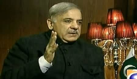 Jirga with Saleem Safi (CM Punjab Shahbaz Sharif Exclusive Interview) - 14th December 2014