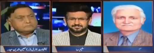 Jirga with Saleem Safi (Jamhoriyat Ko Lahiq Khatrat) – 15th October 2017