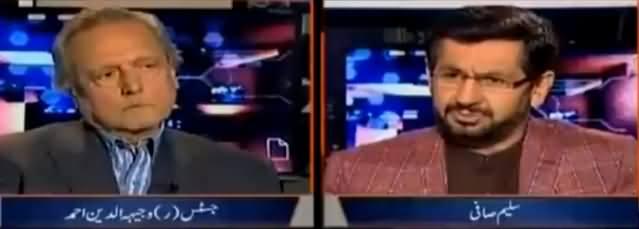 Jirga With Saleem Safi (Justice Wajih Uddin Exclusive Interview) - 16th December 2017