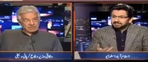 Jirga with Saleem Safi (Khawaja Asif Exclusive Interview) - 26th March 2017