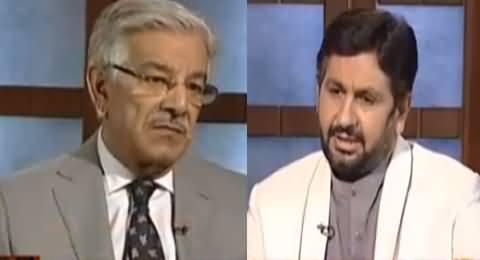 Jirga With Saleem Safi (Khawaja Asif Exclusive Interview) - 4th June 2016
