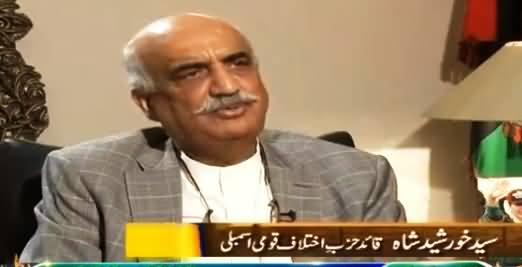 Jirga With Saleem Safi (Khursheed Shah Exclusive Interview) - 18th June 2016