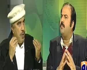 Jirga with Saleem Safi (KPK Tabdeel Huwa Ya PTI Khud Tabdeel Hogayi?) - 21st December 2013
