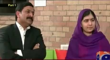 Jirga with Saleem Safi (Malala Yousufzai Exclusive Interview) – 14th October 2015