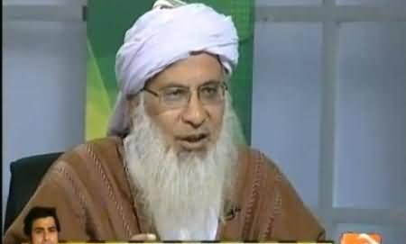 Jirga with Saleem Safi (Maulana Abdul Aziz Exclusive Interview) - 8th March 2014