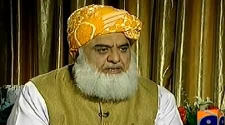 Jirga with Saleem Safi (Maulana Fazal ul Rehman Exclusive Interview) - 24th January 2015