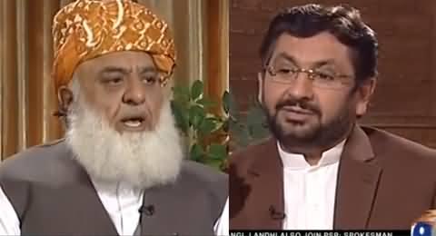 Jirga With Saleem Safi (Maulana Fazal-ur-Rehman Exclusive Interview) - 29th May 201