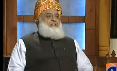 Jirga with Saleem Safi (Maulana Fazal-ur-Rehman Exclusive Interview) - 7th November 2015