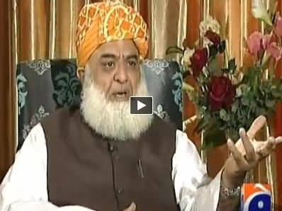Jirga with Saleem Safi REPEAT (Maulana Fazal ur Rehman Interview) – 22nd November 2014