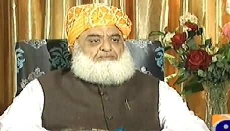 Jirga with Saleem Safi (Maulana Fazal ur Rehman Special Interview) – 16th November 2014