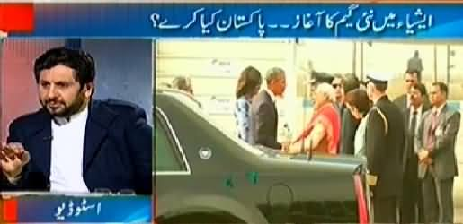 Jirga with Saleem Safi (Obama's Visit to India, New Game Started) - 25th January 2015