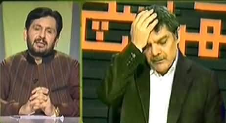 Jirga with Saleem Safi (Operation in Waziristan and Fight in Media) - 24th May 2014