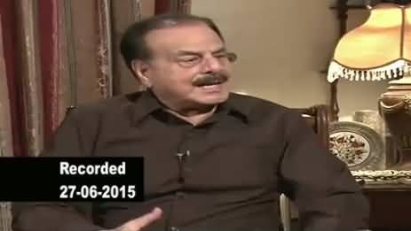Jirga with Saleem Safi PART-2 (General (R) Hameed Gul Exclusive Interview) – 17th August 2015