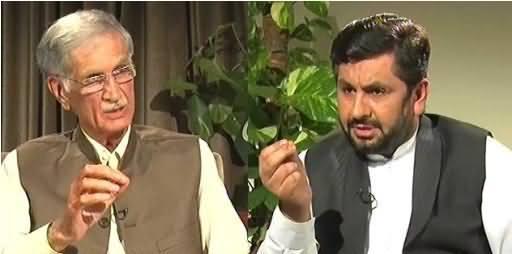 Jirga With Saleem Safi (Pervez Khattak Exclusive Interview) - 31st July 2016