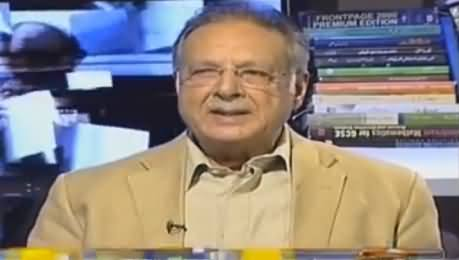 Jirga With Saleem Safi (Pervez Rasheed Exclusive Interview) - 21st August 2016