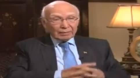 Jirga With Saleem Safi (Sartaj Aziz Exclusive Interview) - 28th August 2016